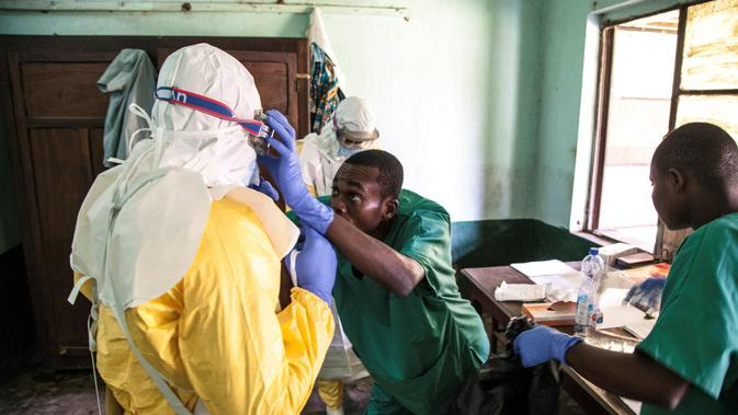 Kasus Ebola Muncul Lagi di Kongo, WHO Kirim Tim Khusus