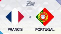 UEFA Nations League: Prancis vs Portugal. (Bola.com/Dody Iryawan)