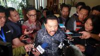 Mantan Kepala Badan Intelijen Negara (BIN) AM Hendropriyono di The Darmawangsa, Jakarta, Jumat (21/6/2019). (Liputan6.com/Nanda Perdana Putra)