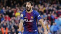 3.  Luis Suarez (Barcelona) - 22 Gol. (AFP/Pau Barrena)