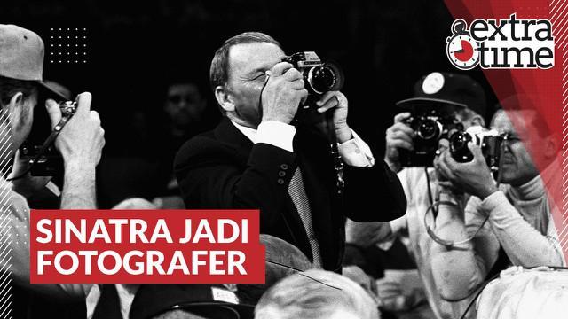 """Berita video Extra Time kali ini membahas cerita ketika penyanyi lagu """"My Way"""", Frank Sinatra, menjadi fotografer untuk laga tinju Muhammad Ali melawan Joe Frazier pada 1971."""