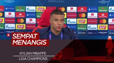 Kylian Mbappe Akui Sempat Panik dan Menangis Semalaman Akibat Cedera Sebelum Bawa PSG Lolos ke Final Liga Champions