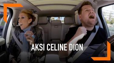 Episode terbaru Carpool Karaoke menghadirkan Celine Dion sebagai bintang tamu. Ia hadir membawakan sejumlah lagu selama berkendara melalui jalan-jalan Las Vegas.