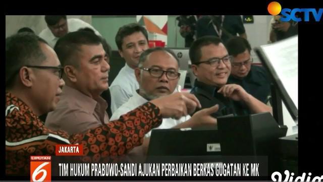 Salah satu materi dalam perbaikan berkas yang dikemukakan Tim Hukum Prabowo-Sandi adalah status calon wakil presiden Ma'ruf Amin yang masih memiliki jabatan di dua Bank BUMN.