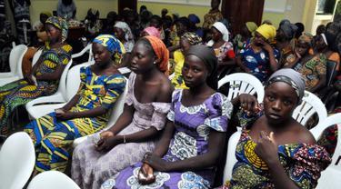 Ditukar dengan Tahanan, 82 Gadis Korban Boko Haram Dibebaskan