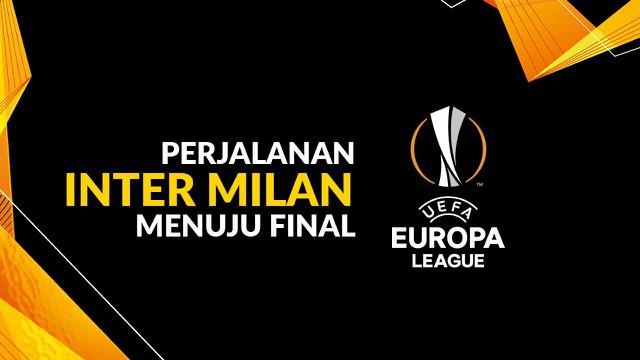 Berita motion grafis perjalanan Inter Milan menuju final Liga Europa 2019-2020.