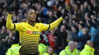 6. Odion Ighalo (Watford), 14 gol dari 33 penampilan. (AFP/Olly Greenwood)