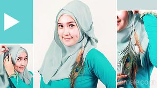 Tutorial Jilbab Terbaru Berita Foto Video Fimela Com
