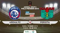 Piala Presiden: Arema FC vs Persita Tangerang. (Bola.com/Dody Iryawan)