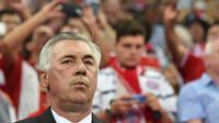 Pelatih Bayern Munchen asal Italia, Carlo Ancelotti. (AFP/Christof Stache)