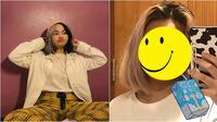 Potret Davina Shafa Tanpa Makeup, Tampil Percaya Diri Dengan Jerawat. (Sumber: Instagram/mimashafa)