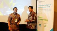 ki-ka: Daren Meisa, Solutions Consultant, VMware Indonesia dan Adi Rusli, Senior Director and Country Manager, VMware Indonesia.