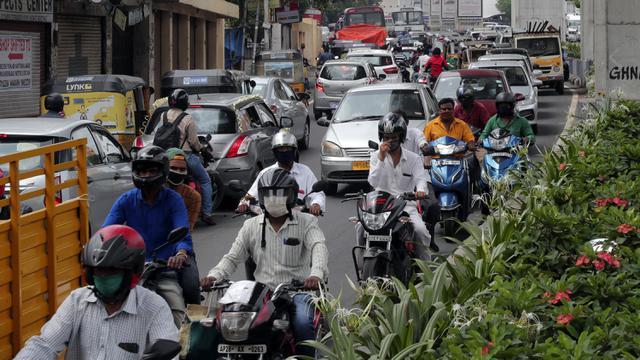 Kasus Infeksi Covid 19 India Per Hari 61 Ribu Terendah Dalam 6 Pekan Global Liputan6 Com