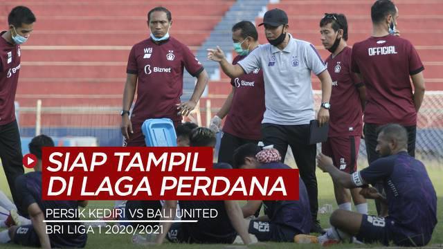 Berita Video, Persik Kediri Siap Hadapi Bali United di Laga Pembuka BRI Liga 1 2020/2021