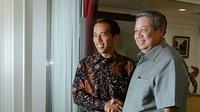 Presiden SBY bertemu Joko Widodo di Kantor Presiden (Ist)
