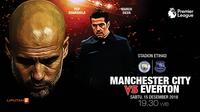 Manchester City vs Everton (Liputan6.com/Abdillah)
