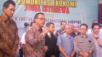 Dirut PT AP I Faik Fahmi menceritakan keluh kesahnya naik pesawat dari Jakarta ke Yogyakarta