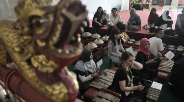 Belajar Gamelan di Museum Nasional