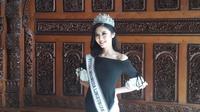 Puteri Indonesia Lingkungan 2020 Putu Ayu Saraswati (Liputan6.com/Komarudin)