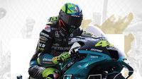 Pebalap Petronas Yamaha SRT: Valentino Rossi. (Bola.com/Dody Iryawan)