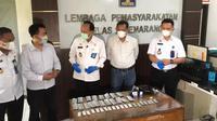 Penyelundupan narkoba jenis psikotropika diduga dilakukan ketika petugas Lapas Semarang sibuk berbuka puasa. (Foto: Liputan6.com/Felek Wahyu)