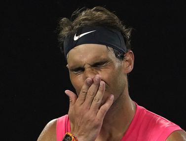 Kekecewaan Rafael Nadal Batal Akhiri Paceklik Gelar