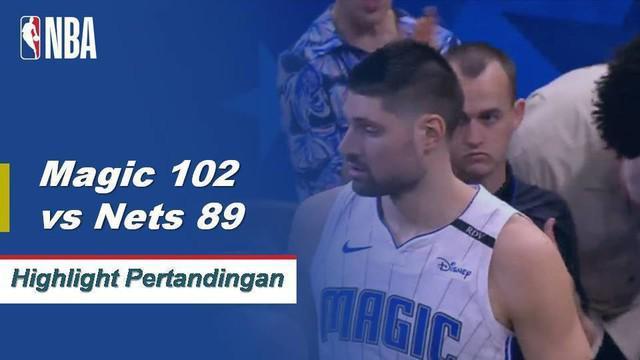 Nikola Vucevic mencetak 24 poin dan 12 rebound untuk memimpin Orlando atas Brooklyn.