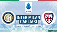 Serie A - Inter Milan Vs Cagliari (Bola.com/Adreanus Titus)