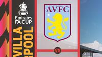 Piala FA - Aston Villa Vs Liverpool (Bola.com/Adreanus Titus)