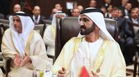 Sheikh Mohammed Bin Rashid Al Maktoum (KHALIL MAZRAAWI / AFP)