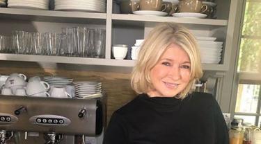 Martha Stewart awet muda (Foto: Instagram @marthastewart)