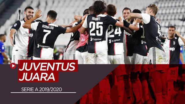 Berita Video Juventus Kunci Gelar Serie A Usai Kalahkan Sampdoria