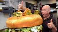 banyak restoran yang menjual burger sebagai menu utamanya. Selain itu, resep burger ini juga sering dimodifikasi.