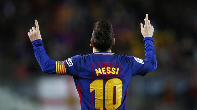 Barcelona, Lionel Messi, La Liga