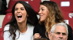 Ludvine Kadri merupakan keturunan Prancis dan Aljazair. (AFP/Franck Fife)