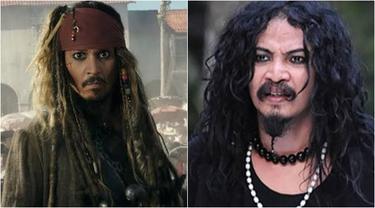 7 Cocoklogi Seleb Indonesia Mirip Pemain Pirates of the Caribbean Ini Kocak