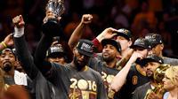 LeBron James Terpilih Jadi MVP Finals (Reuters)
