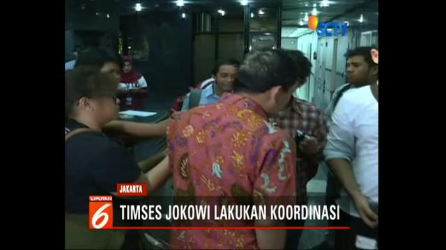 Tim kampanye nasional Jokowi masih membuka pintu untuk tokoh-tokoh dari Partai Demokrat yang telah menyatakan dukungannya.