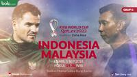 Kualifikasi Piala Dunia 2022 - Indonesia Vs Malaysia - Duel Pelatih (Bola.com/Adreanus Titus)
