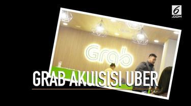 Warganet berkomentar banyak tentang proses Grab yang mengakuisisi Ube