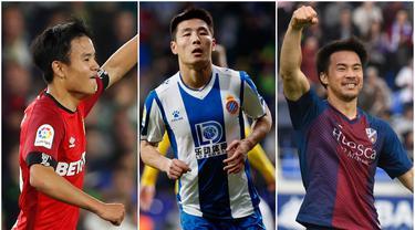 Liga Spanyol merupakan salah satu magnet bagi para pesepak bola dunia untuk menunjukan kebolehannya, termasuk para pemain dari benua Asia. Berikut adalah tiga pemain Asia yang mampu tampil mengesankan musim ini, baik di LaLiga Santander dan LaLiga SmartBank.