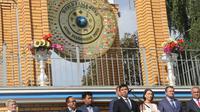 Duber RI untuk Ukraina Yuddy Chrisnandi menghadiri Peringatan Hari Perdamaian dunia di Kota Kremenchuk (KBRI Kiev)