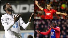 Striker sebagai ujung tombak tim dibutuhkan ketajaman dan kemampuan menempatkan posisi untuk mencetak gol. Namun banyak striker yang sering melakukan offside ketika berada di daerah pertahan lawan. Berikut 5 raja offside di Premier League. (kolase foto AFP)