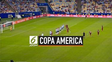 Argentina menundukkan Venezuela dengan skor 2-0 pada perempat final Copa America 2019 di Stadion Maracana, Rio de Janeiro, Jumat (28/6/2019). Selanjutnya, Lionel Messi, dkk. akan menantang musuh bebuyutan mereka, Brasil, pada partai semifinal.