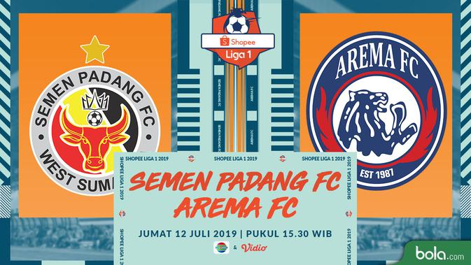 Live Streaming Shopee Liga 1 2019: Semen Padang vs Arema Exclusive di Vidio 3