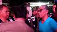 Potongan video ketika perwira BNN dan Kepala Satpol PP Pekanbaru Agus Pramono di parkiran hiburan malam. (Liputan6.com/M Syukur)