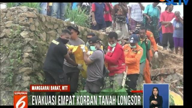 Seluruh jenazah ditemukan dalam reruntuhan rumah. Termasuk jenazah dari Jelita Mensa, seorang siswi SMPN Mbliling yang baru berusia 13 tahun.