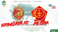 Liga 1 2018 Sriwijaya FC Vs PS Tira (Bola.com/Adreanus Titus)