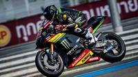 Hafizh Syahrin resmi menjadi pembalap Yamaha Tech 3 di MotoGP 2018. (Twitter/Yamaha Tech 3)