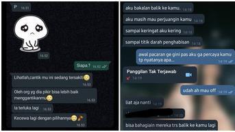 6 Chat Mantan Ajak Balikan Ini Ujungnya Tak Sesuai Harapan, Bikin Nyesek